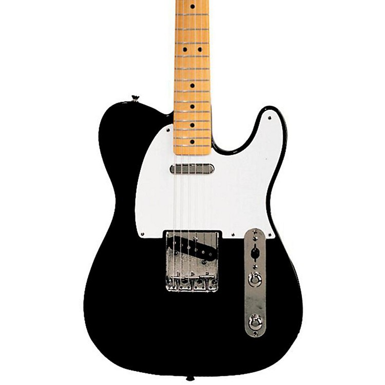 FenderClassic Series '50s Telecaster Electric GuitarBlackMaple Fretboard