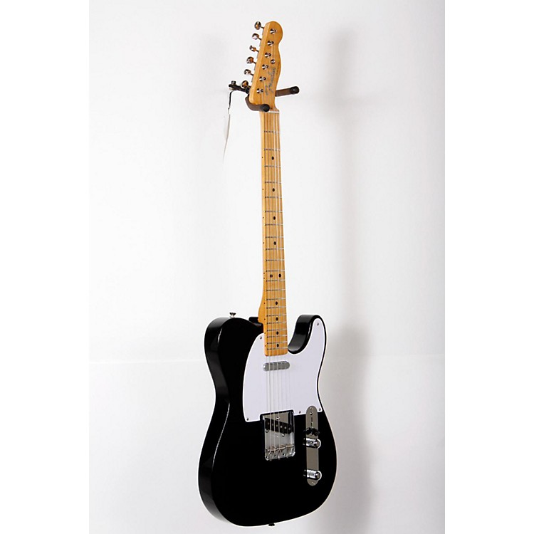 Fender Classic Series '50s Telecaster Electric Guitar Black, Maple Fretboard 888365826899