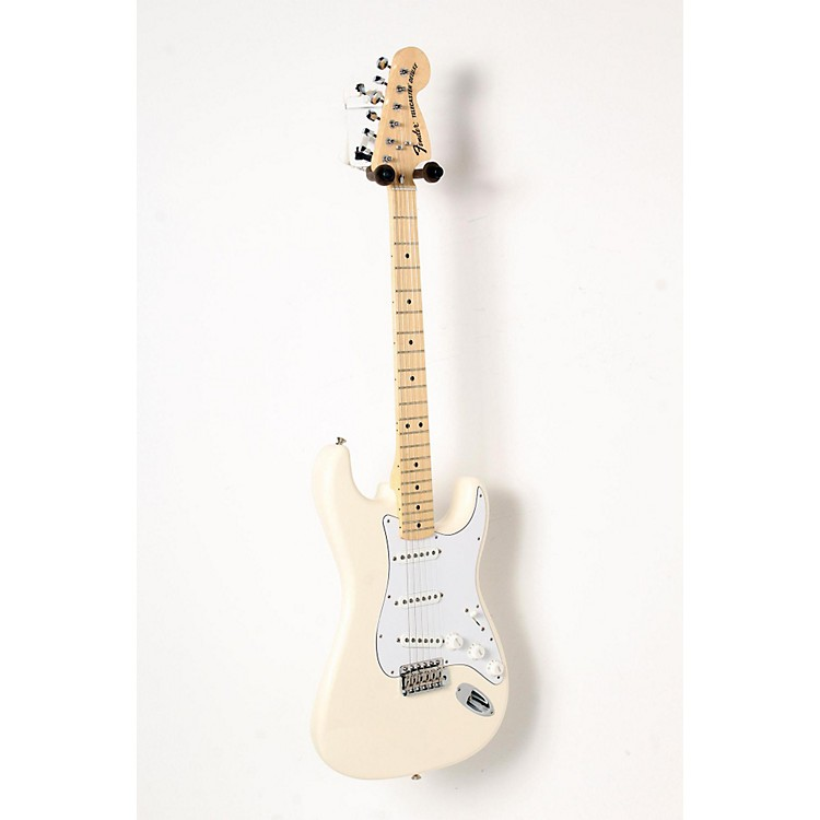 Fender Classic Series '70s Stratocaster Electric Guitar Olympic White, Maple Fretboard 888365841328