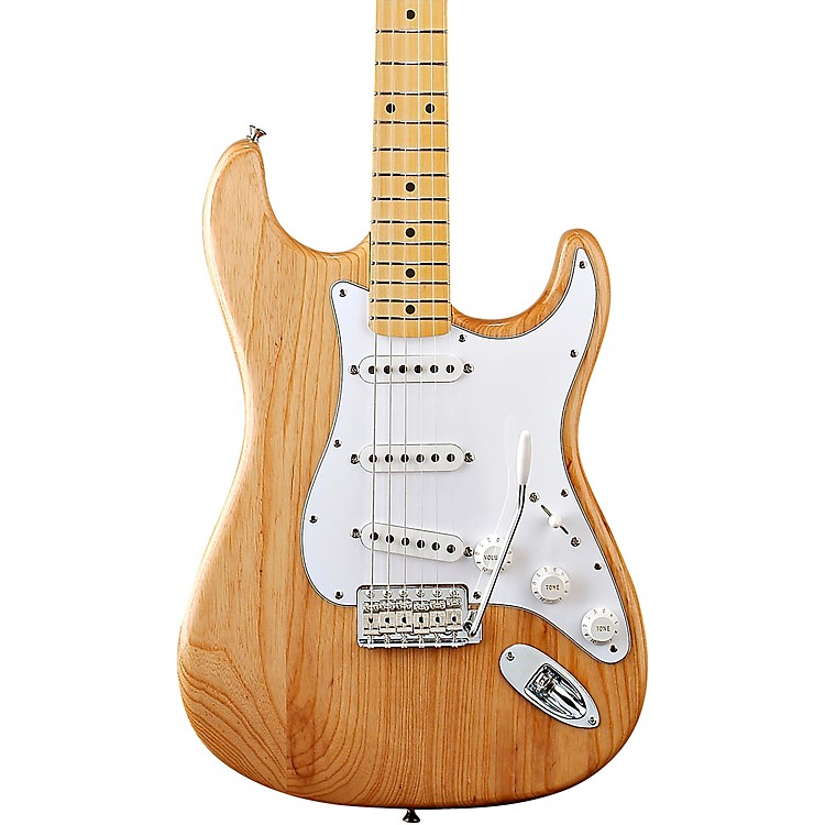 Fender Classic Series '70s Stratocaster Electric Guitar Natural Maple Fretboard