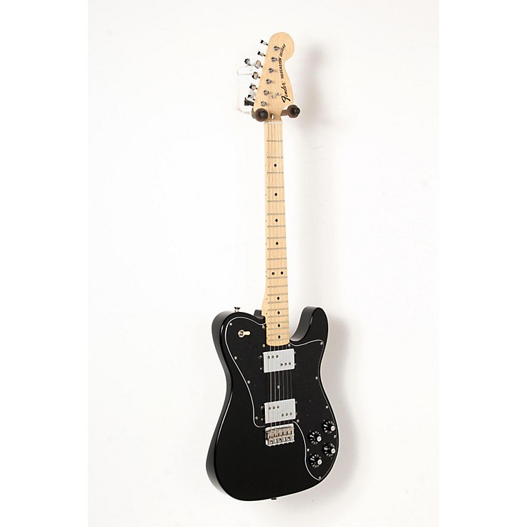 Fender Classic Series '72 Telecaster Deluxe Electric Guitar Black 888365835570
