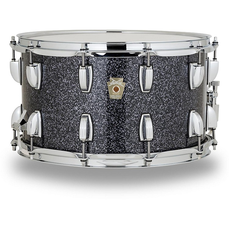 Ludwig Classic Series Hybrid with Oak Shell Snare Drum 14 x 8 in. Gun Metal Glass