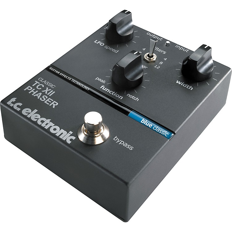 TC Electronic Classic Series TC XII Phaser Pedal