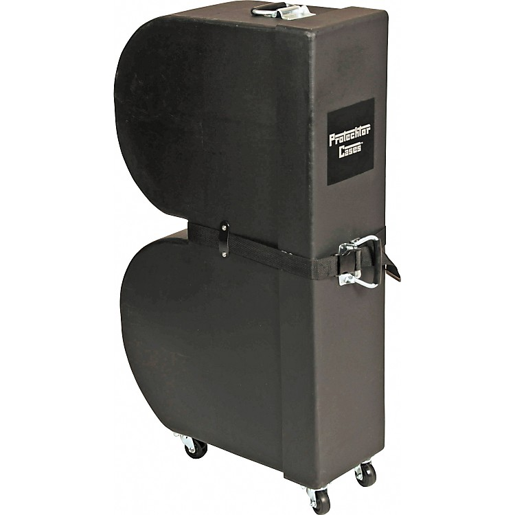 Protechtor CasesClassic Series Upright Timbale Case with WheelsBlack