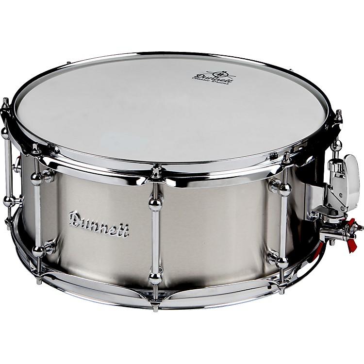 DunnettClassic Stainless Steel Snare Drum#46.5x14