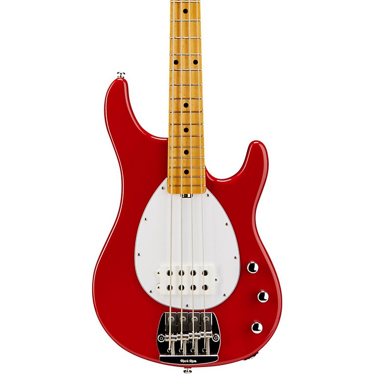 Ernie Ball Music Man Classic Sterling Electric Bass Guitar Classic Red