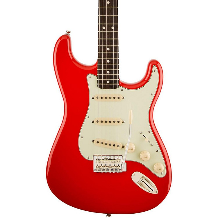 Squier Classic Vibe Simon Neil Signature 60's Stratocaster Fiesta Red Rosewood Fingerboard