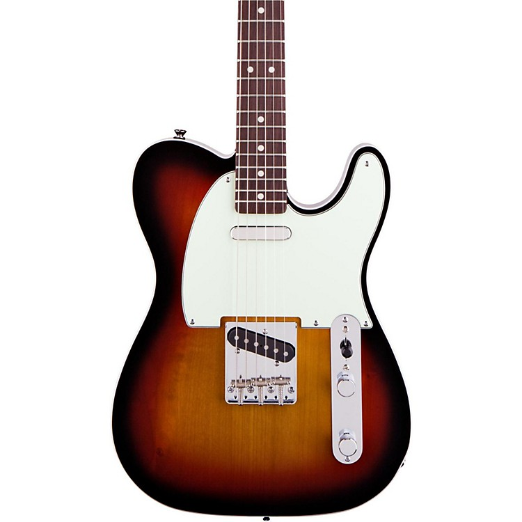 Squier Classic Vibe Telecaster Custom Electric Guitar Three-Tone Sunburst