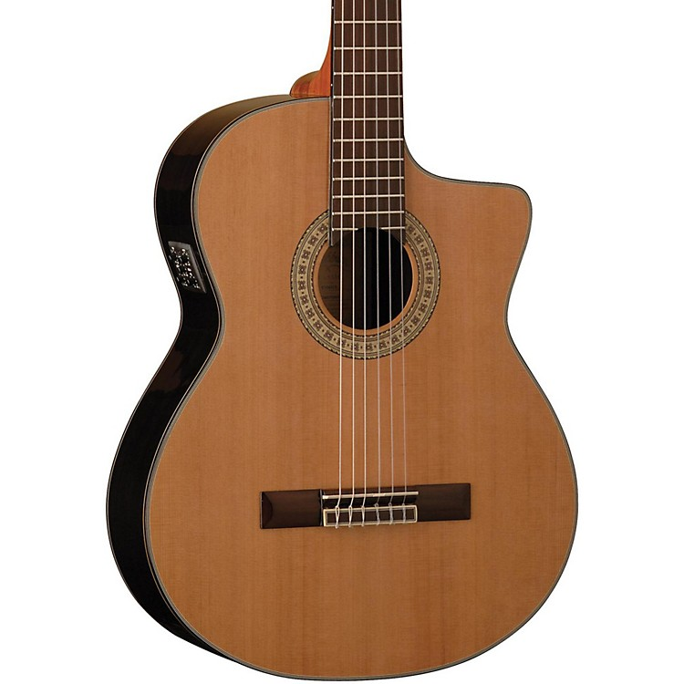Washburn Classical Acoustic Electric Guitar Natural Gloss