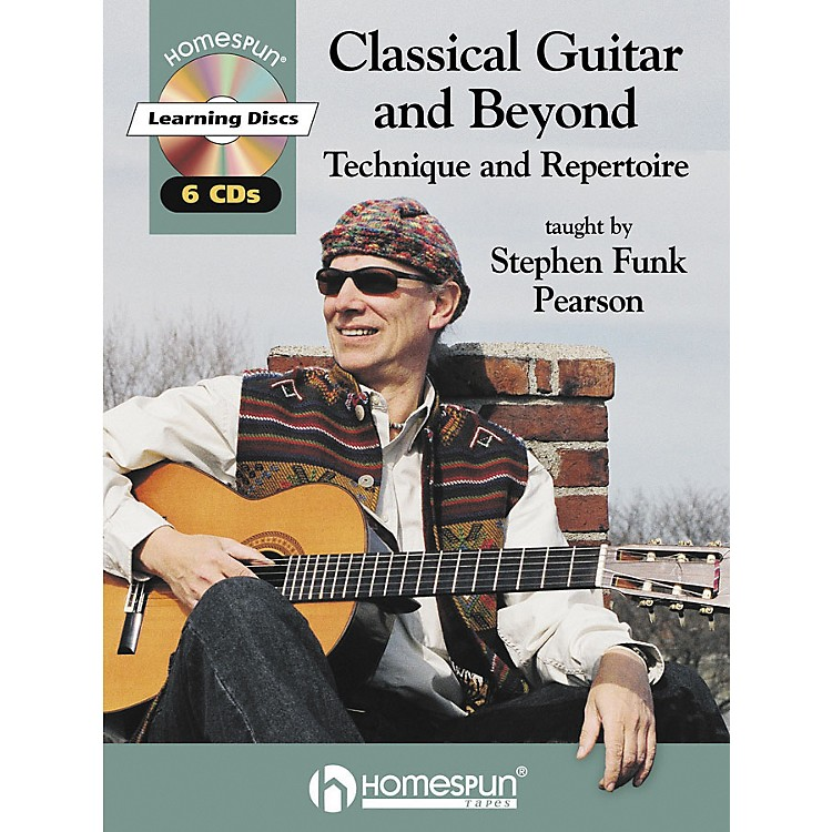 Homespun Classical Guitar and Beyond (Book/CD)