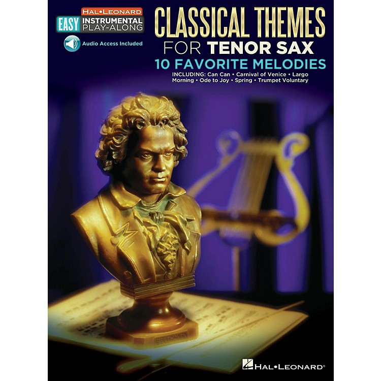 Hal LeonardClassical Themes - Tenor Sax -Easy Instrumental Play-Along Book with Online Audio Tracks