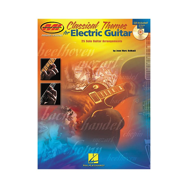 HomespunClassical Themes for Electric Guitar Guitar Tab Book with CD