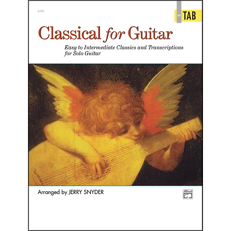 Alfred Classical for Guitar Tab Book