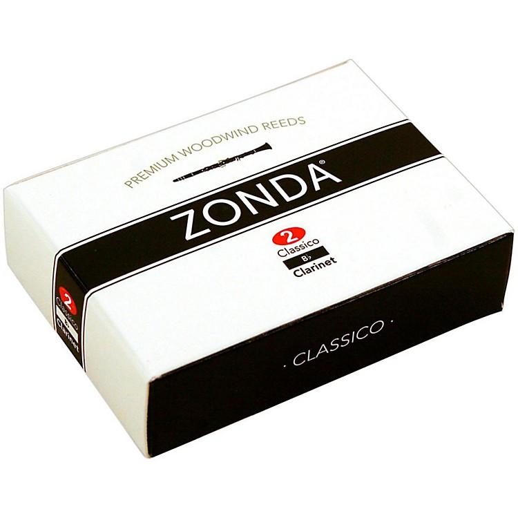 ZondaClassico Bb Clarinet ReedStrength 2Box of 10
