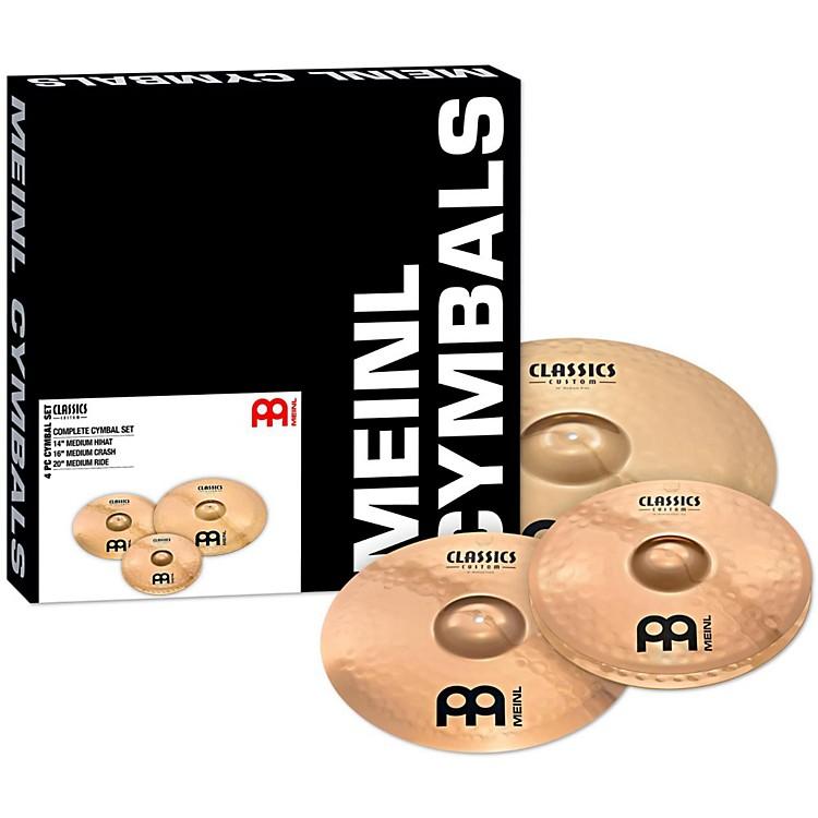 MeinlClassics Custom Brilliant Cymbal Box Set