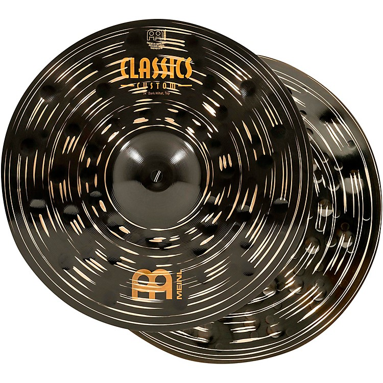 MeinlClassics Custom Dark Hi-Hat Cymbal Pair14 in.