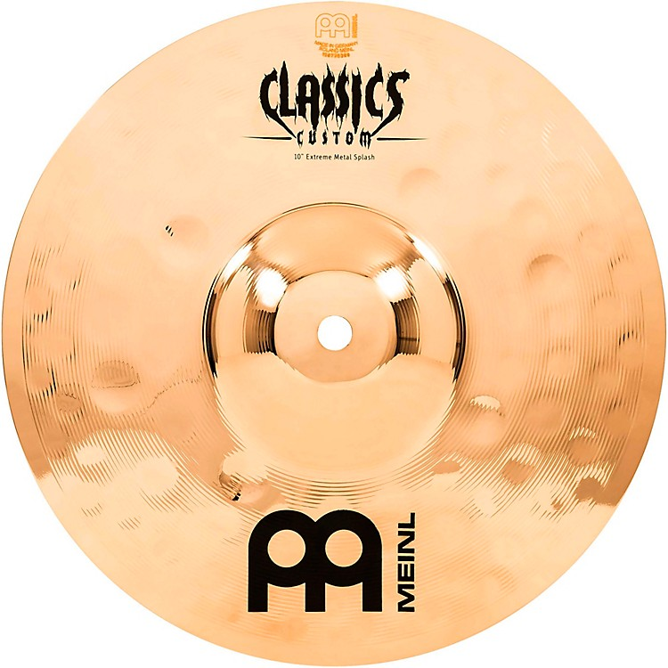 Meinl Classics Custom Extreme Metal Splash Cymbal 10 in.