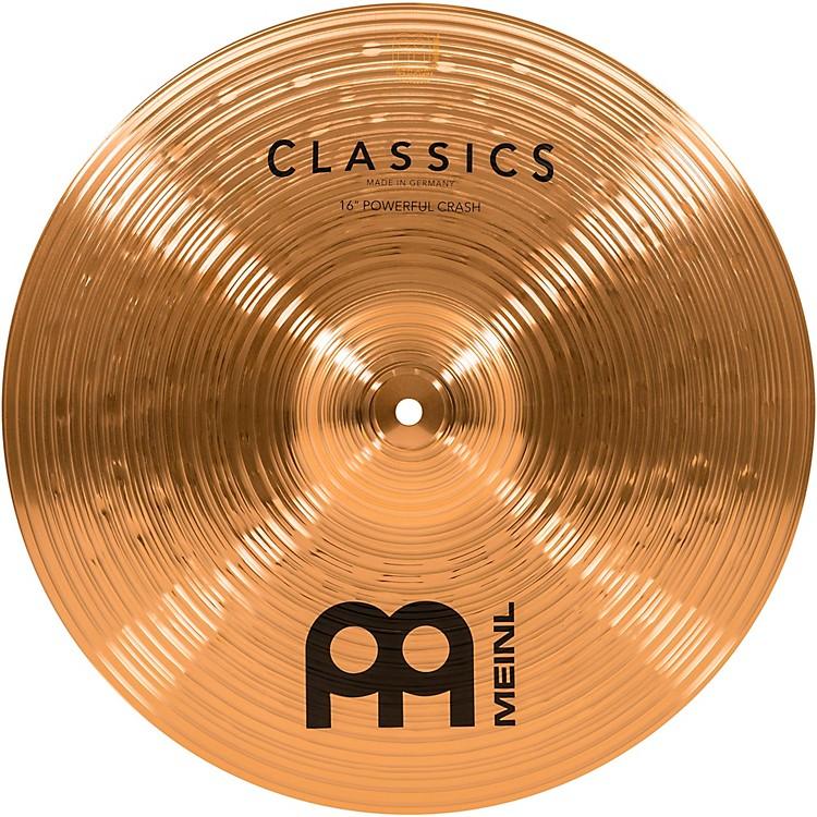 MeinlClassics Powerful Crash Cymbal16 in.