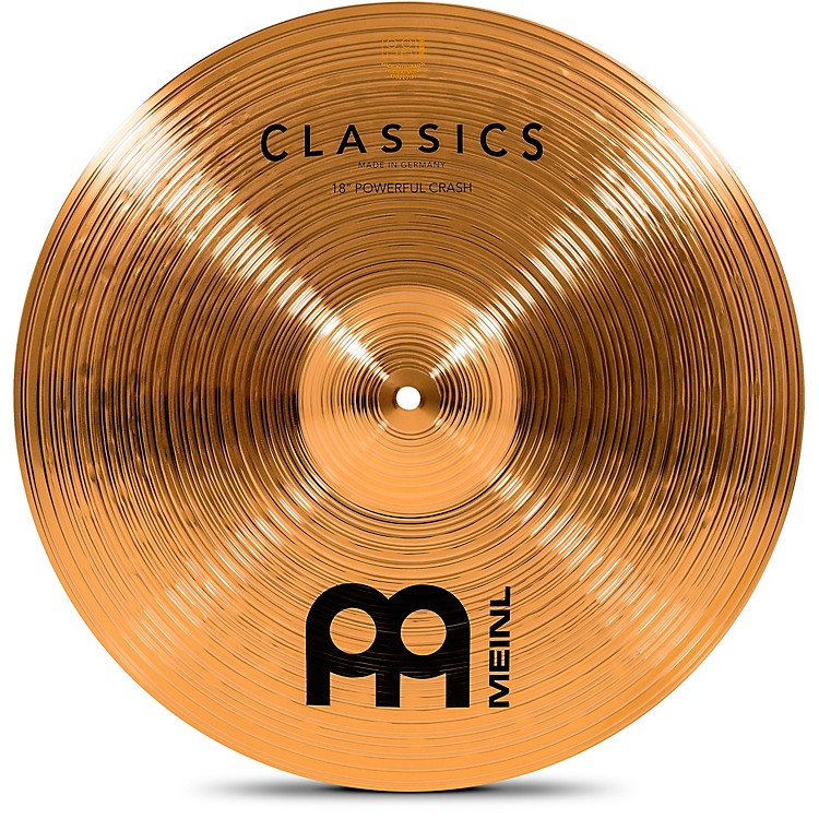 Meinl Classics Powerful Crash Cymbal 18 in.