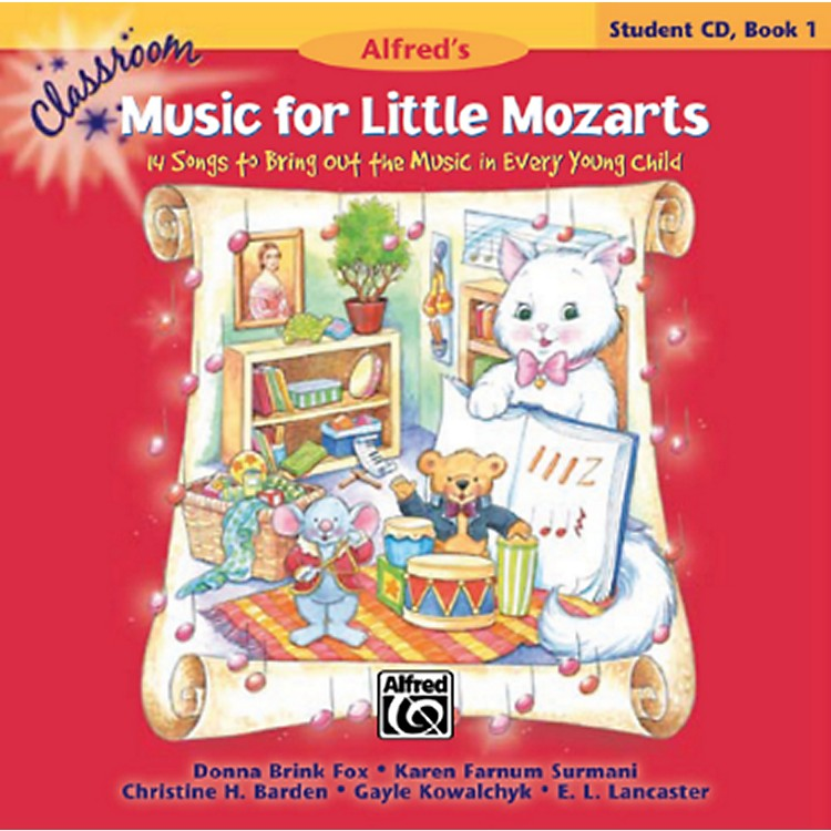 AlfredClassroom Music for Little Mozarts Student CD Book 1