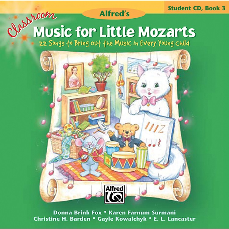 Alfred Classroom Music for Little Mozarts: Student CD Book 3