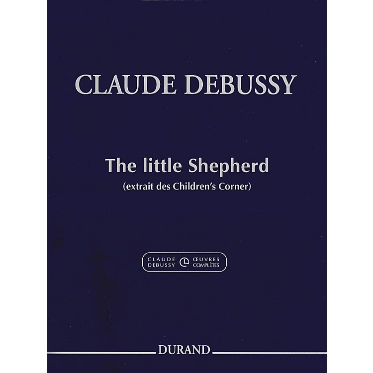 DurandClaude Debussy The Little Shepherd from Children's Corner For Piano
