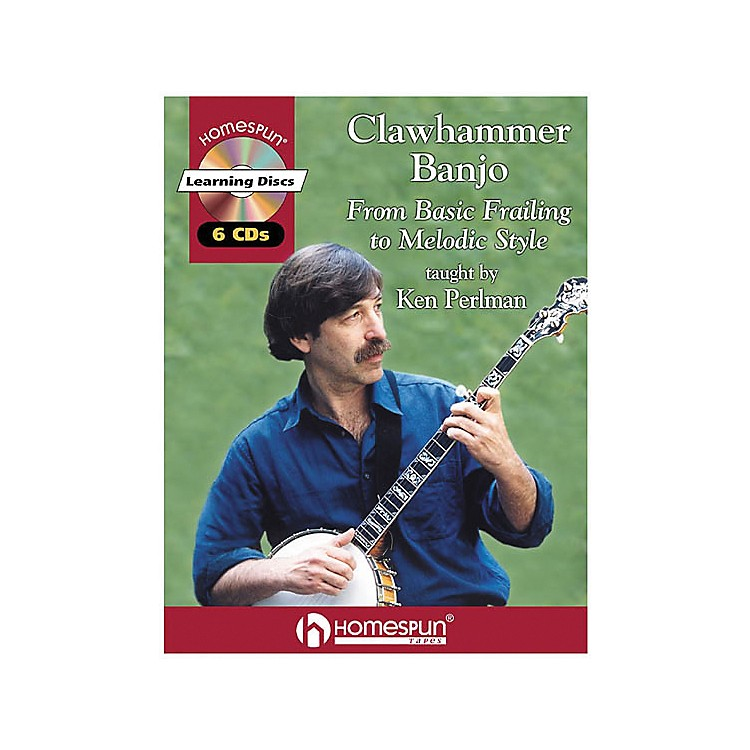 Homespun Clawhammer Banjo (Book/CD)