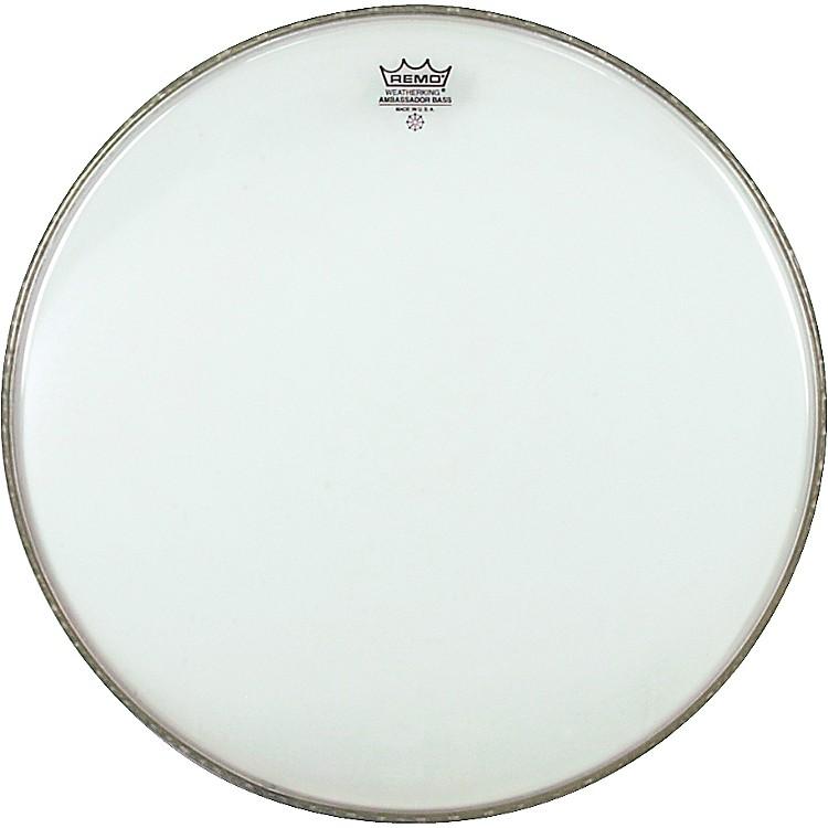RemoClear Ambassador Bass Drumhead22 in.