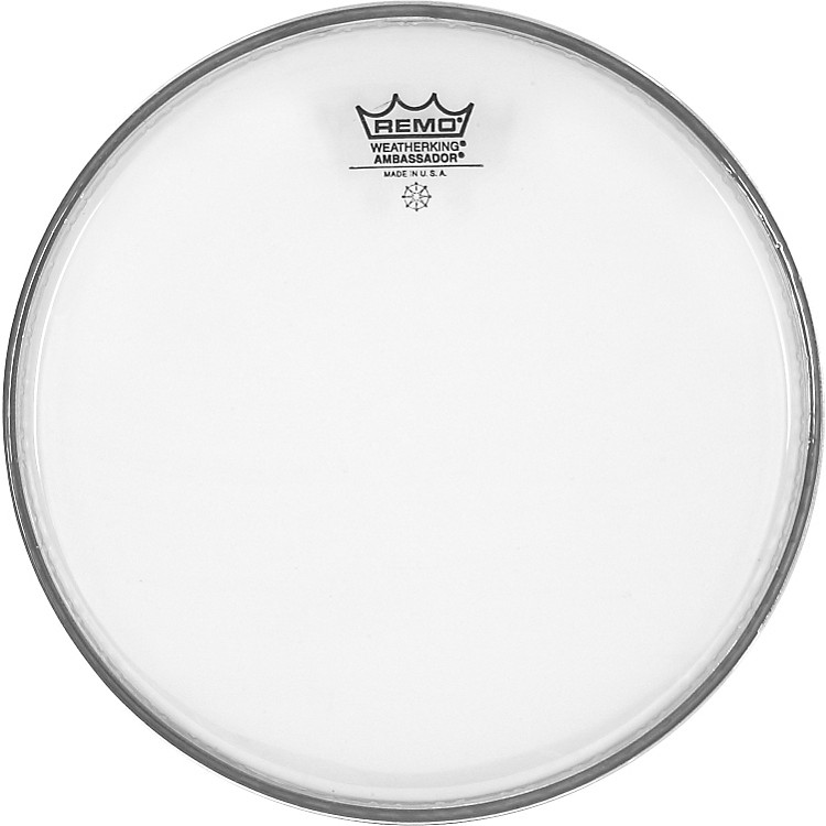 Remo Clear Ambassador Head  10 in.