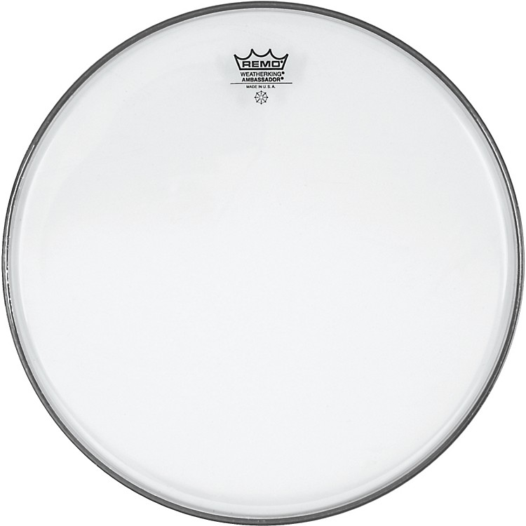 Remo Clear Ambassador Head  14 in.