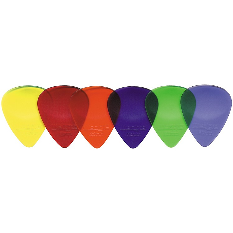 Wedgie Clear XL Guitar Picks 1 Dozen Yellow 1.14MM