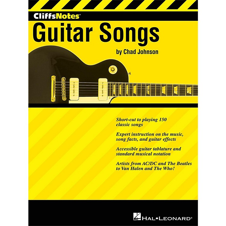 Hal Leonard Cliffsnotes To Guitar Songs