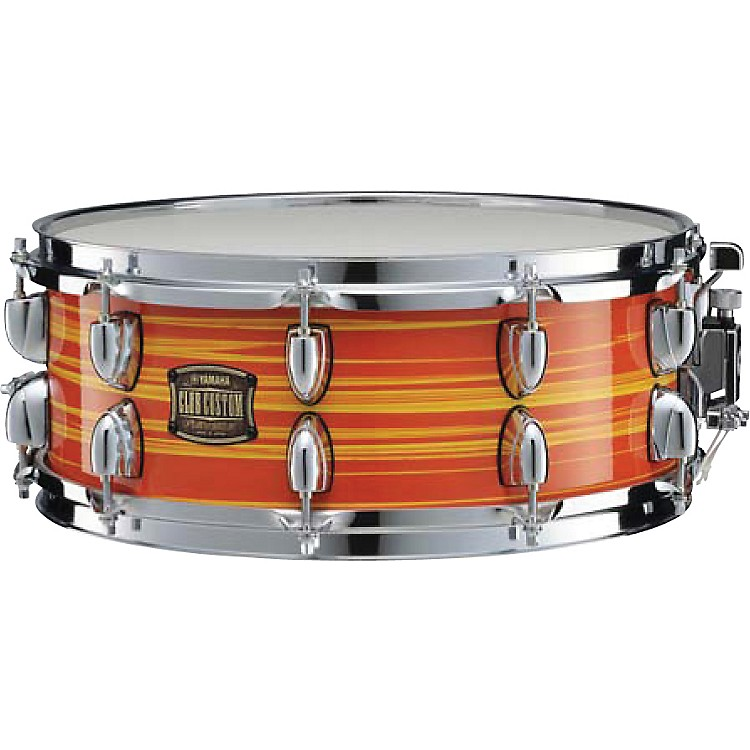 YamahaClub Custom Snare Drum14 x 5.5Swirl Blue