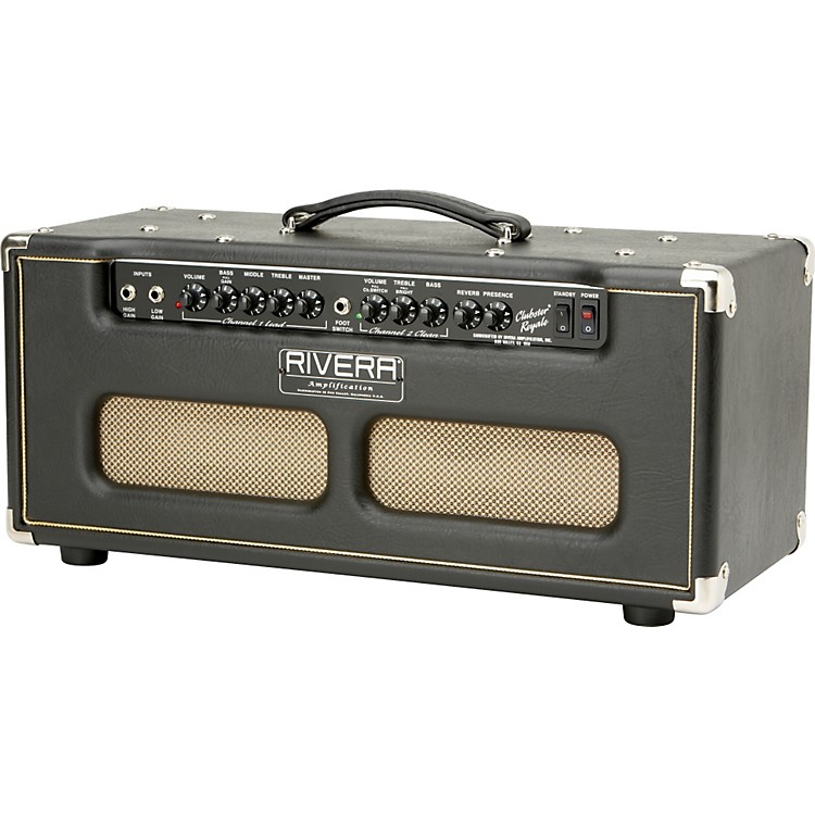 Rivera Clubster Royale 50W Tube Guitar Amp Head