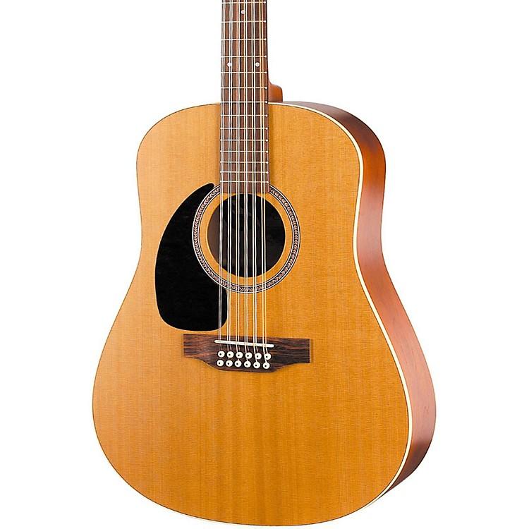 SeagullCoastline Series S12 Dreadnought Left-Handed 12-String Acoustic GuitarNatural