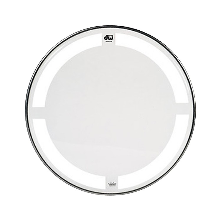DWCoated/Clear Tom Batter Drumhead