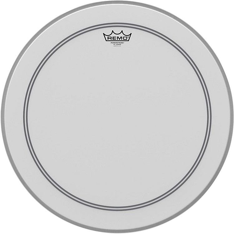 Remo Coated Powerstroke 3 Bass Drum Head  20 in.