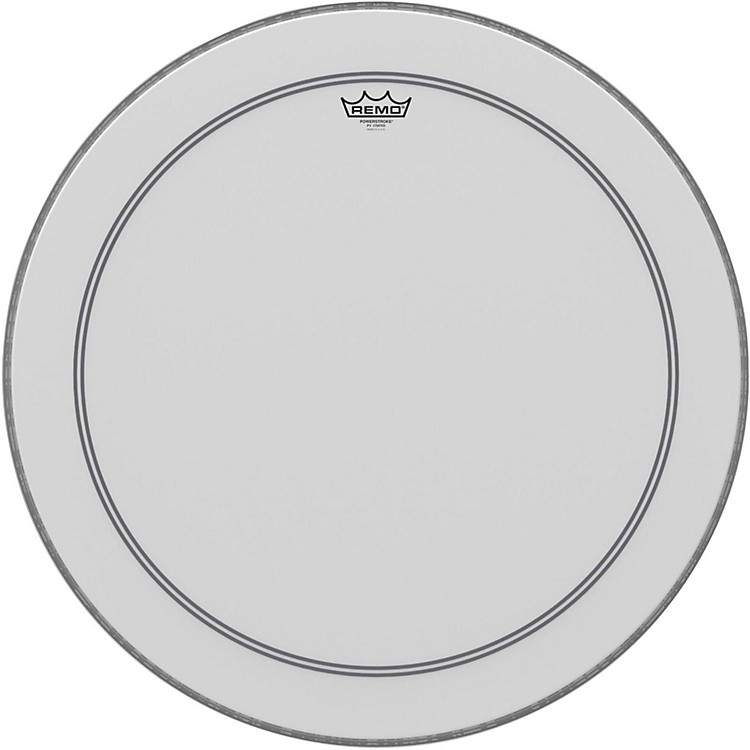 RemoCoated Powerstroke 3 Bass Drum Head