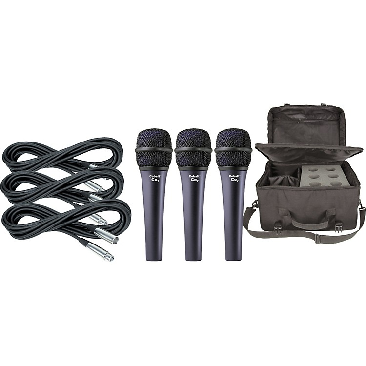 Electro-Voice Cobalt 7 Three Pack with Cables