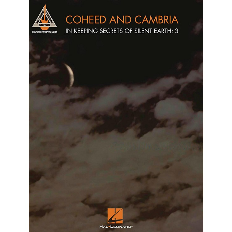Hal LeonardCoheed And Cambria - In Keeping Secrets Of Silent Earth: 3 Guitar Tab Songbook