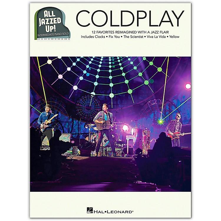 Hal LeonardColdplay - All Jazzed Up!  Intermediate Piano Solo Songbook