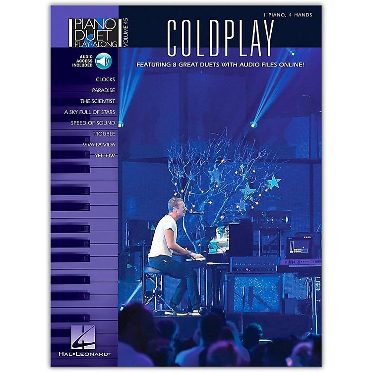 Hal LeonardColdplay - Piano Duet Play-Along Volume 45 Book/Online Audio