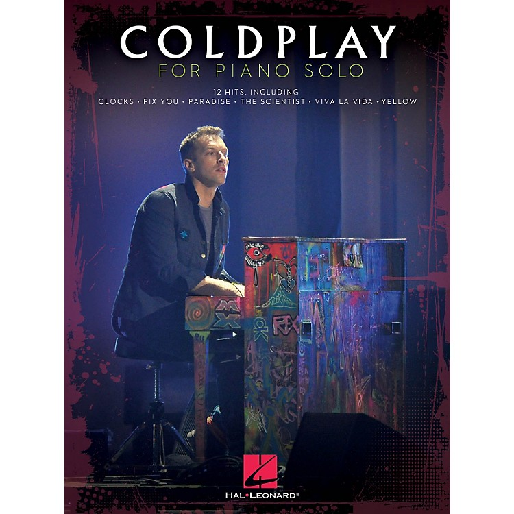 Hal Leonard Coldplay For Piano Solo