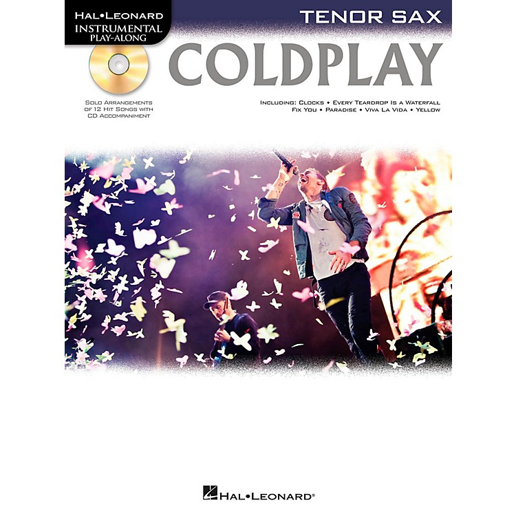 Hal Leonard Coldplay For Tenor Sax - Instrumental Play-Along CD/Pkg