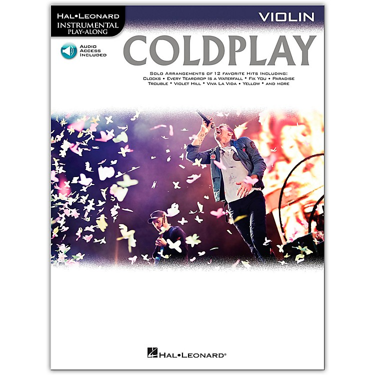 Hal LeonardColdplay For Violin - Instrumental Play-Along CD/Pkg