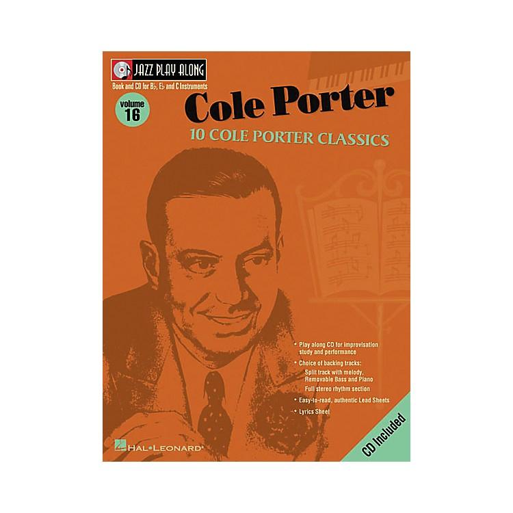 Hal LeonardCole Porter - Jazz Play Along Volume 16 Book with CD