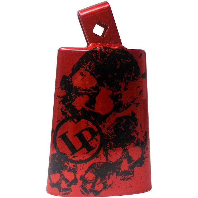 LP Collectabells Cowbell - Skull Red