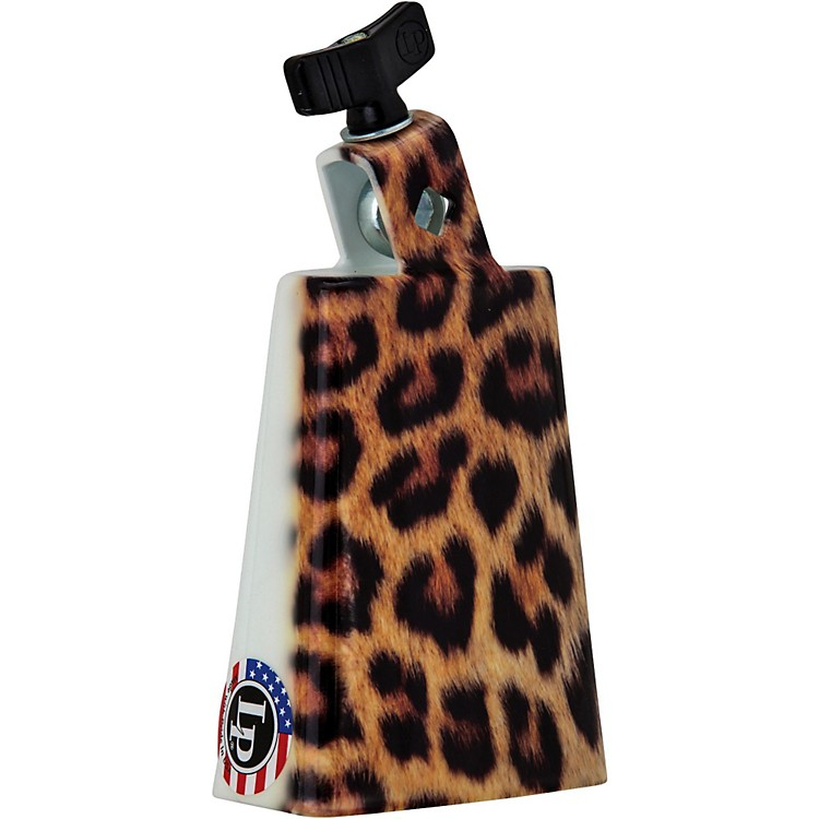 LPCollectabells Leopard Cowbell5 in.