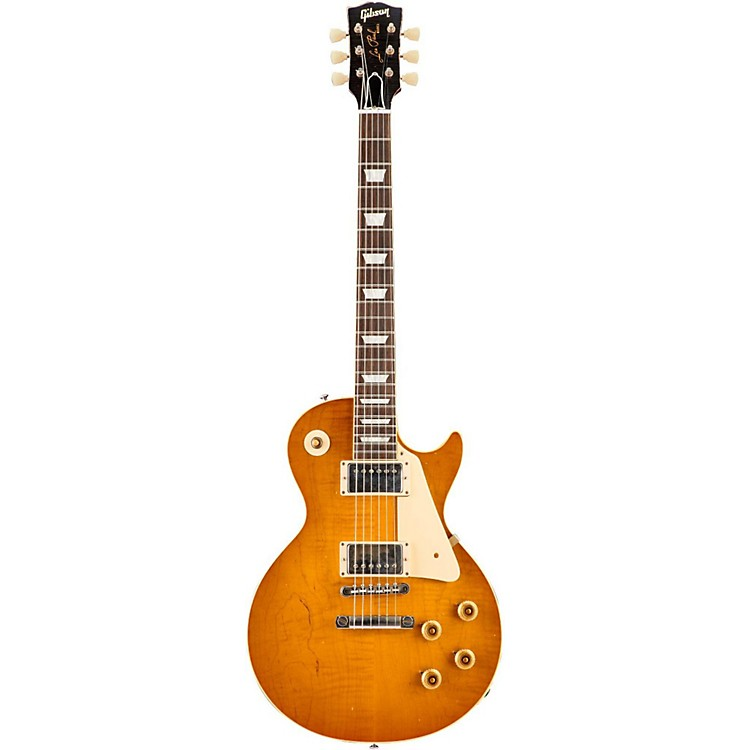 Gibson CustomCollector's Choice #33 - 1960 Les Paul #0-2176 Jeff HannaAged Lemon Burst