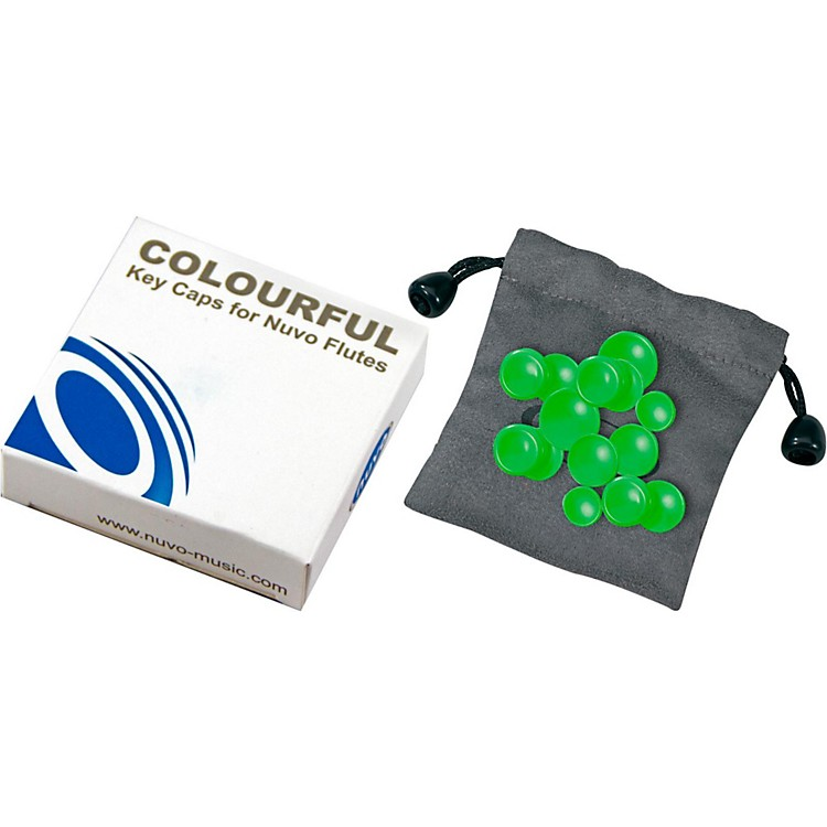 NuvoColored Key Caps Set for Nuvo FlutesGreen